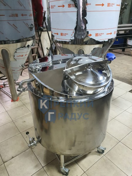"Пароводяной котел (ПВК) ""HUDSON'S BREWERY EQUIPMENT"" 500 л с мешалкой"